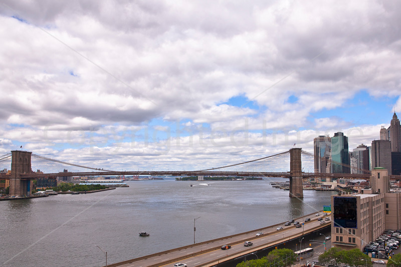 Downtown NYC from the Manhattan Bridge