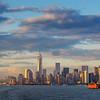 Manhattan Skyline from Staten Island Ferry