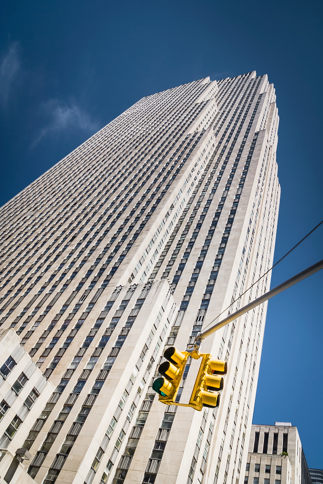 Travel Photography Blog: New York.  Manhattan. Rockefeller Center
