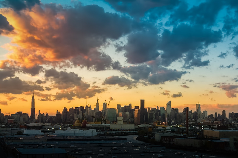 Travel Photography Blog - New York. Manhattan shot from Queens