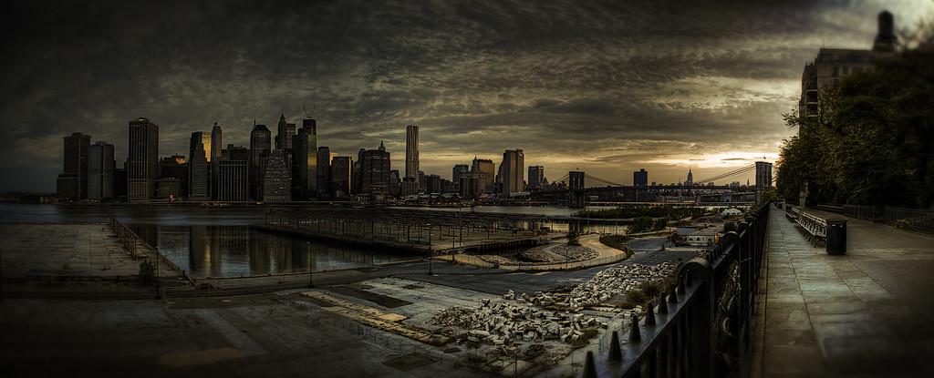 Sunrise from Brooklyn