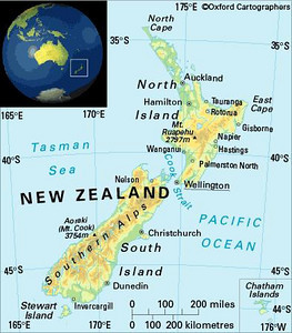 New Zealand is an island nation about the same size as Great Britain.  The two countries are almost directly oposite each other on the globe.  I liked the idea of traveling in another English-speaking country whose inhabitants were friendly towards Americans.  I left college and worked on Pacific coast tourist boats from 1981-1982, saving up my New Zealand travel money.