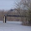 Last piece of the old Gravois bridge
