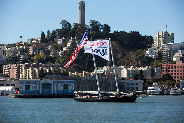 America's Cup Races 11 & 12 Aboard Al Capone Spectator Yacht 09/15/13