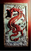 Chinese dragon plaque $30
