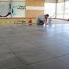 Sales floor tile.