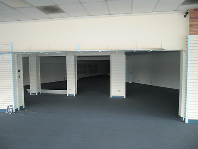Future retail parts room.
