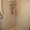 Before: Back of shower