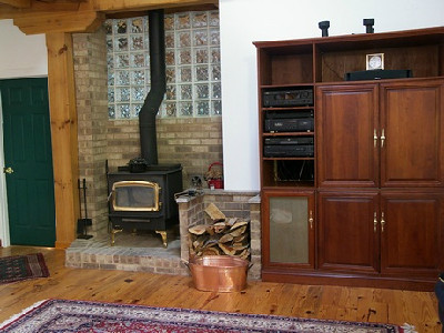 215  Wood stove