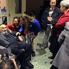 11/14/2013 MIke Orazzi   Staff<br /> Rabbi Henry Okolica during his 100th birthday party at Central Connecticut State University on Thursday evening.
