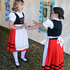 9/23/2017 Mike Orazzi | Staff<br /> Alpenland Dancers Children's Group Grace Libby Ella Barry during the St. Peter Church Oktoberfest in New Britain Saturday.