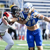 11/4/17  Wesley Bunnell | Staff<br /> <br /> CCSU football defeated St. Francis 28-10 in a home game at Arute Field. OLB Seth Manzanares (44).