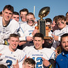 11/23/17  Wesley Bunnell | Staff<br /> <br /> Southington football topped Cheshire on Thanksgiving morning in the Apple Valley Classic at Cheshire High School. Tom O'Shea (15), top L, Ian Hall (44), Shaun Wagner (2), Jack Terray (3), bottom L, William Barmore (12) and head coach Mike Drury.