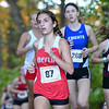 101916  Wesley Bunnell | Staff<br /> <br /> The CCC Cross Country Championships were held at Wickham Park in Manchester on Wednesday afternoon. Berlin's Juliana Cancellieri, #67, finished 46th overall.