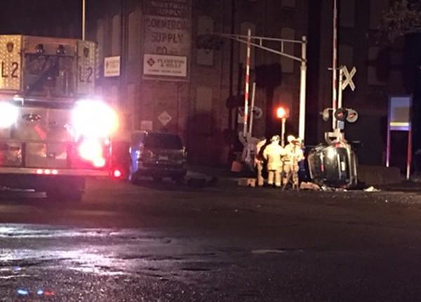 Chestnut Street crash