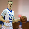11/30/17   Wesley Bunnell | Staff<br /> <br /> CCSU Men's Basketball defeated North Carolina A&T on Thursday evening at Derrick Gymnasium in New Britain. Austin Nehls (10).