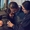 12/15/17  Wesley Bunnell   Staff<br /> <br /> New Britain resident Mario Cardoso Sr. was given a last minute stay of removal Friday afternoon on the day he was facing deportation to his native Mexico. Mario Cardoso Sr. hugs two of his nieces during a press conference on Friday evening at his New Britain home.