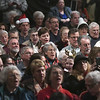 12/16/2017 Mike Orazzi | Staff<br /> Part of the full house during the 3rd Annual Tuba Christmas at Trinity-On-Main in downtown New Britain Saturday.