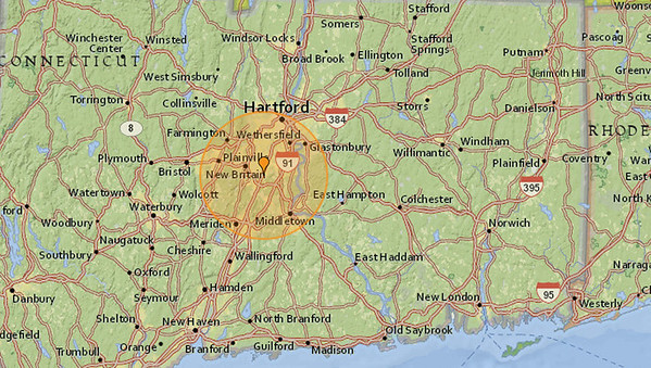 Earthquake in New Britain