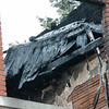 01/17/18  Wesley Bunnell   Staff<br /> <br /> The New Britain Fire Department battled a structure fire at 42 Connerton St. starting late on Tuesday night and continued into Wednesday morning. The building sustained severe damage with with interior structural collapse and a total roof collapse. One firefighter  was injured and transported to the hospital for observation and released. Part of the collapsed roof can be seen through a top floor window.