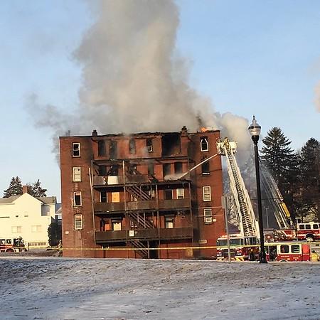 Arch Street building fire