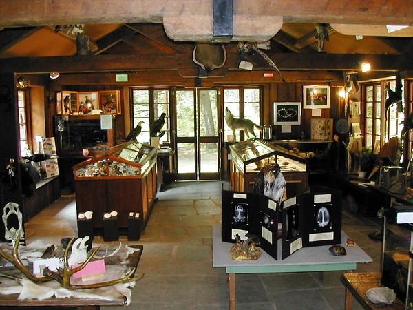 Barkhamsted Nature Museum inside Podskoch