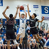 12/21/17  Wesley Bunnell | Staff<br /> <br /> Southington basketball defeated Farmington on Thursday night at Southington High School.  Andrew Lohneiss (35).