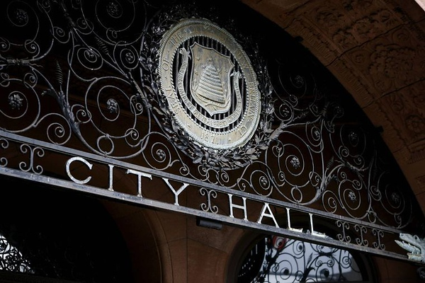 City Hall New Britain Sign