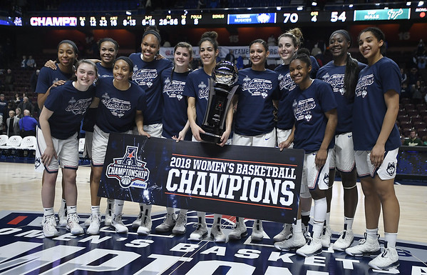 UConn women's basketball 3-12-18