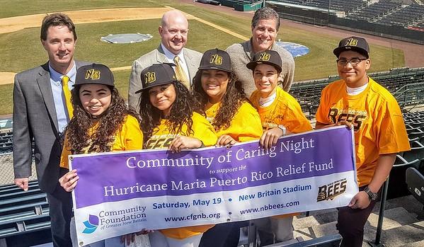 Hurricane Maria Bees NBHS students 4-5-18
