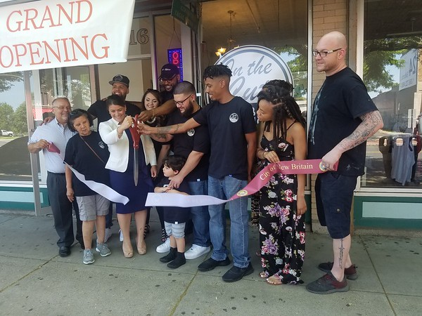 Ribbon Cutting at In the Cut Barber Lounge