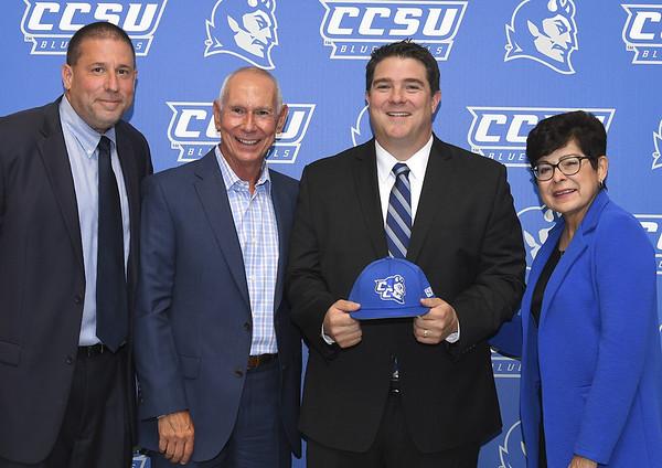 CCSU athletic director Brian Barrio