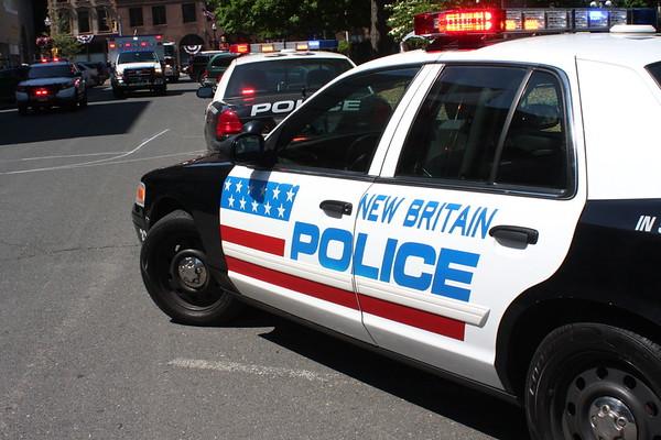 New Britain police car