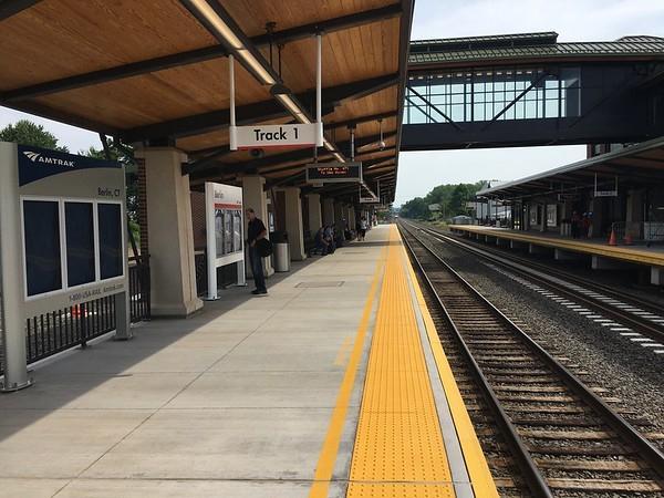 southbound platform-M