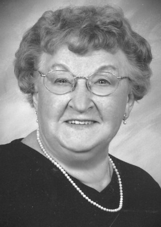 Mary Simcik obit photo bw