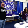 2/18/2017 Mike Orazzi | Staff <br /> The Bristol Beat's Steve Gagnon and Amy Sunshine during the 32nd Annual Bristol Home & Business Show held at Bristol Eastern High School Saturday.