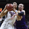 NCAA Albany UConn Basketball