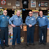 022317  Wesley Bunnell | Staff<br /> <br /> Standing at the front counter at Dalena Auto Parts are Peter L. Dalena, Dan J. Dalena, Peter D. Dalena and Dan Dalena.