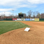 041017  Wesley Bunnell | Staff  Stadium preparation continues at the home of the New Britain Bees on Monday April 10.