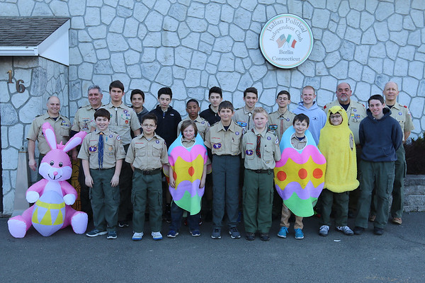 Troop 256 March 2017