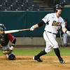 042617  Wesley Bunnell | Staff<br /> <br /> New Britain Bees vs Lancaster Barnstormers on Wednesday evening. Craig Maddox (24).