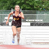 061317  Wesley Bunnell | Staff<br /> <br /> The CIAC Decathlon, Heptathlon, Hammer Throw & Steeplechase Championships took place Monday & Tuesday at Veteran's Stadium in New Britain. Shaelyn Pacheco took third place in the girls 2000 meter steeplechase.