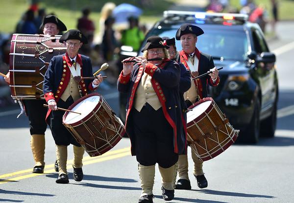 Newington parade 2016 Moodus Fife and Drum Corps