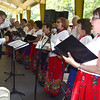 8/27/2016 Mike Orazzi | Staff<br /> Members of the Polonia Paderewski Choir during the 36th Annual Dozynki Festival at Falcon Field in New Britain on Saturday.