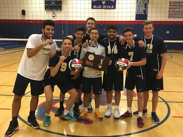 Newington Boys Volleyball Seniors