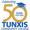 Tunxis 50 Year Logo