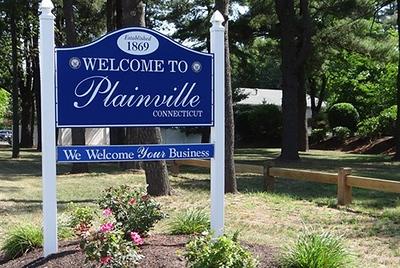 Plainville Sign