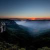 Govetts Leap Sunrise