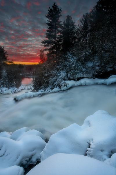 Ragged Falls, Dwight, Ontario
