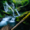 The mighty Panther Creek Falls, WA